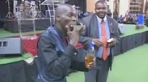 VIDEO: Rabboni Ministries (South Africa) Congregants Drink Petrol