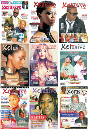 Xclusive Magazine Covers