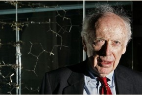 Infamous Biologist James Watson, who said black people were inherently less intelligent than white people, is Broke