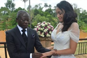 Mixed Reactions Trail Oshiomhole and Lara Fortes' Wedding